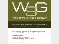 webstandardsgroup.org