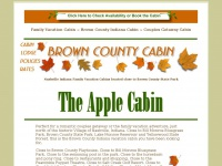 browncountycabin.com