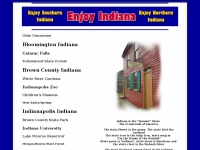 Indianapolis Indiana Tourism - Enjoy Brown County Indiana Travel Accommodations
