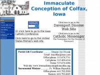 immaculateconceptioncolfax.org