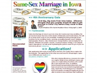 Same-Sex Marriage in Iowa