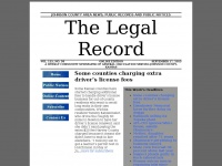 Thelegalrecord.net