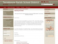 Tpsd.org - Terrebonne Parish School District