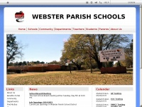 Websterpsb.org - Webster Parish School Board: Home Page