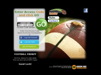 www.footballsweeps.com Football Frenzy Sweepstakes - OFFICIAL RESULTS HERE