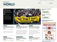 peoplesworld.org Thumbnail