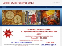 lowellquiltfestival.org
