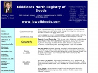 Middlesex North Registry of Deeds