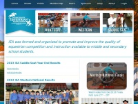 Interscholastic Equestrian Association for middle and secondary school students