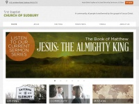 First Baptist Church of Sudbury | A community of people transformed by the gospel of Jesus Christ.