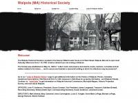 walpolehistoricalsociety.org