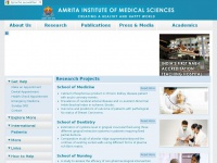 Amrita Institute of Medical Sciences and Research Centre | AIMS Hospital, Kochi, Kerala, India