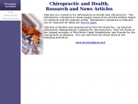 chiropracticresearch.org Thumbnail