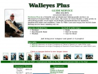 Corey Studer's Walleyes Plus Guide Service, Mille Lacs Lake, Minnesota