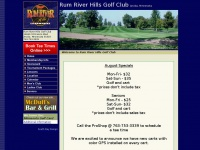 Anoka Golf Minnesota, Minnesota Public Golf, St. Francis Golf Minnesota, Rum River Hills Golf Club