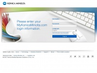 mykonicaminolta.com