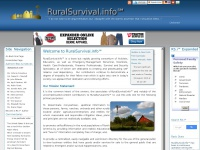 RuralSurvival.info℠ Home Page (Index Page)