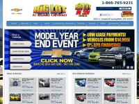 New Chevrolet & Used Chevy Car Truck SUVs  | Reliable Chevrolet Springfield, MO | Chevy Parts Service and Sales