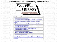 Welcome to the ONELibrary Consortium Home Page