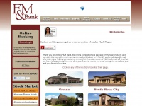 Fmbankne.com - F&M Bank | We take banking personally