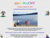 Cedar Pond, Milan New Hampshire, Berlin New Hampshire, Camping New Hampshire, Fishing New Hampshire