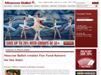Welcome to Moscow Ballet!