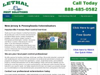 Eastern Pennsylvania & New Jersey Pest Control & Extermination Services