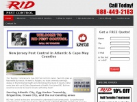 Pest Control in Atlantic & Cape May Counties | RID Pest Control