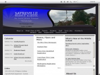 Sayrevillemiddle.net - Sayreville Middle Home Page