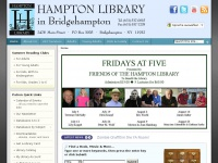Hampton Library in Bridgehampton