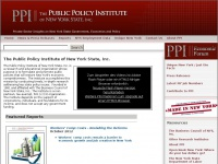 The Public Policy Institute of New York State, Inc.