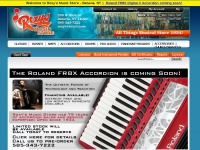 Roxy's Music Store: Roland Digital V Accordions, FR7X, FR8X, FR3X; Yamaha Clavinovas and Arius Digital Pianos, - All Things Musical Since 1934 - Roxy's Music Store - 585-343-7222