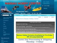 Nassauhobby.com - Nassau Hobby Center - An Authorized Lionel Dealer & Largest Online Model Train Dealer - Also Carrying Radio Control and Plastic Models
