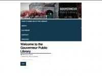 gouverneurlibrary.org