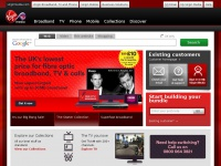 Virgin Media - Cable broadband, TV & phone plus mobile broadband & phone