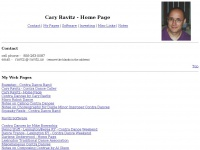 Cary Ravitz - Home Page