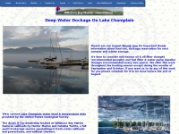 Willsboro Bay Marina, a full service marina on Lake Champlain, with well-protected deep water dockage
