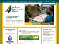 Piedmont Environmental Alliance | Connecting people to preserve our planet