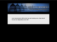 lessgovernment.org