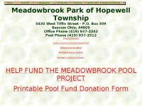 Meadowbrook Park