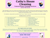cathyshousecleaning.com