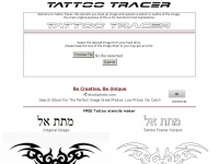 Tattootracer.com - Tattoo Tracer : Upload an image to get trace contour