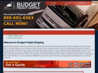 budgetfreightshipping.com