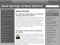 Sandites.org - Sand Springs School District