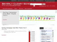 Beverly Cleary School | The official site of the Beverly Cleary School PTA and Foundation