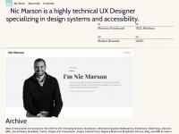 nicmarson.com
