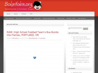 The Voice of Portland Oregon | Vancouver | Beaverton | Boise
