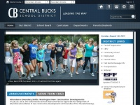 Cbsd.org - Central Bucks School District / Homepage