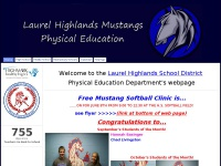 Laurel Highlands Mustangs Physical Education