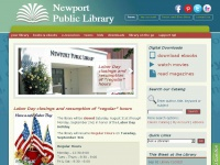 Newport Public Library. Serving the Newport, RI Community.